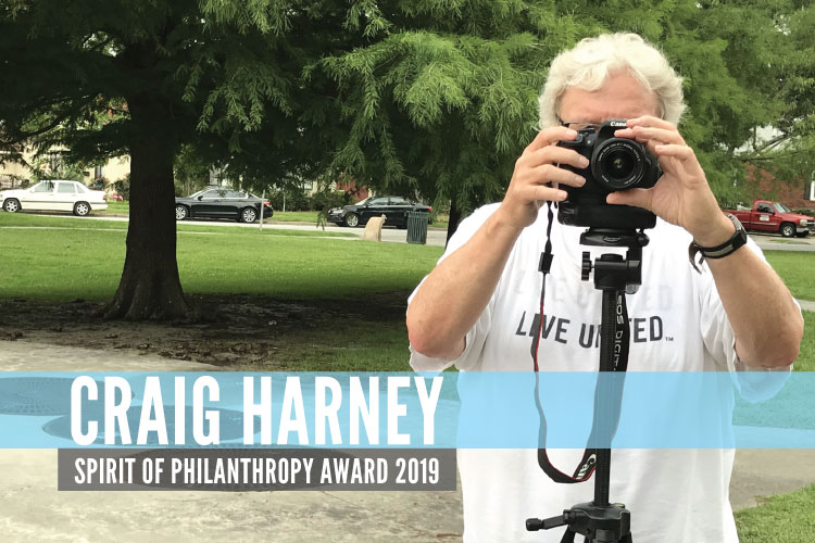 Spirit Of Philanthropy Award: Craig Harney